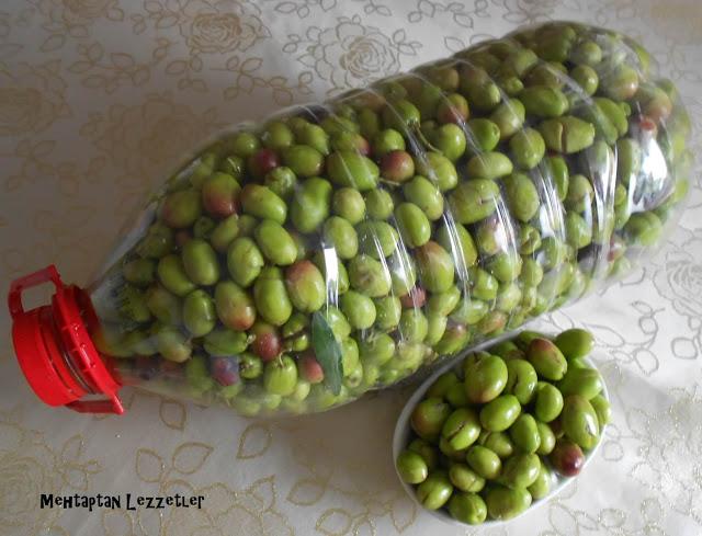 Yeşil Zeytin Salamurası